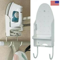 Wall Mounted Ironing Board Holder Hanger Clothing Iron Rest