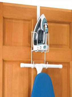 Whitmor Wire Over the Door Iron & Board Holder Home Storage