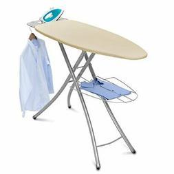 Wide-Top Ironing Board 4-leg design 100% cotton cover Garmen