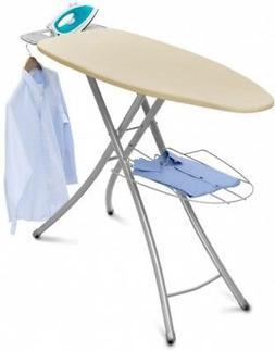 Homz Professional Wide-Top Ironing Board, Cream