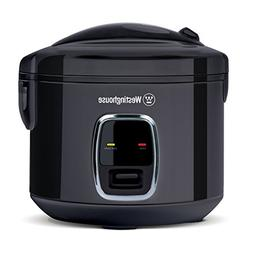 Westinghouse WRC201B Small Appliance 14-Cup Rice Cooker, Bla