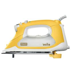 Oliso Yellow TG1600 1800 Watts Quilters Smart Steam Iron Pro